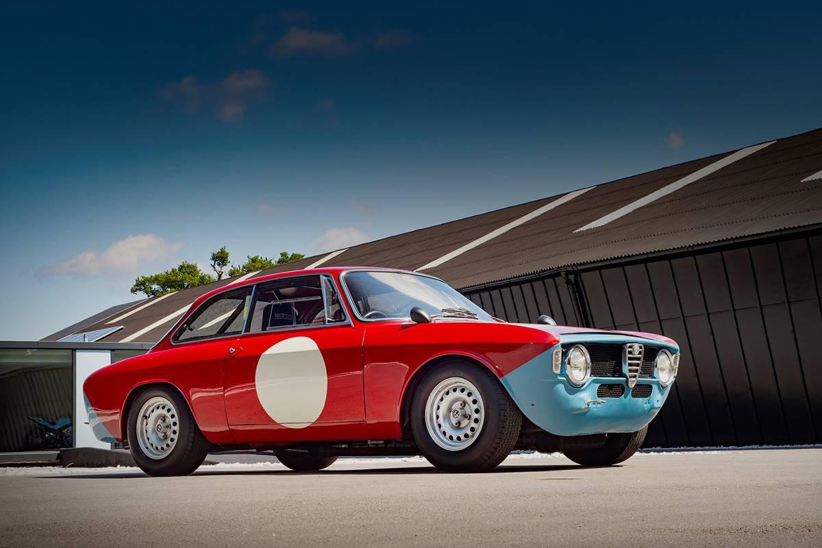 1965 Alfa Romeo 1600 GTA Autodelta - Right hand drive ...